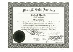 Milan Milic - Marc M. Basal Institute - NPL Certificate